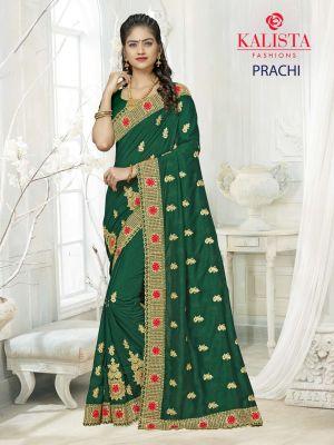 Kalista Prachi Designer Wedding Wear Saree Collection