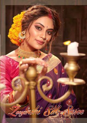 Zeeyanshi Silk 2301 Series Designer Traditional Wear Saree Collection