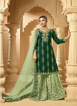 Zeeya 1001 Colors Heavy Faux Georgette Salwar Suits Collection