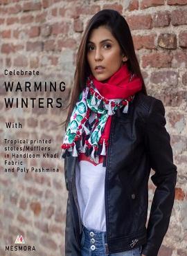 Mesmora 9001 Series Warming Winter Dupatta Collection
