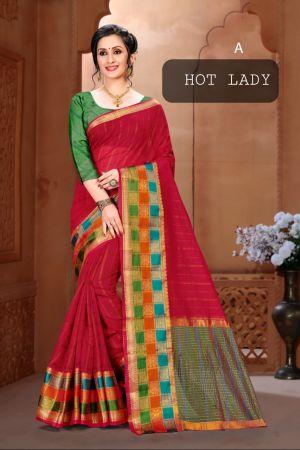 Ronisha Hot Lady Soft Cotton Festive Wear Saree Collection