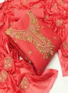 Rasili Designer Suits 6 Heavy Jam Cotton Designer Dress Material