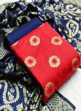 Rnx Jacquard Ankh 2 Designer Dress Material