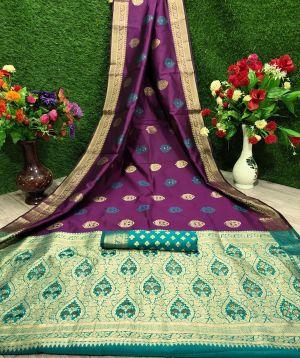 Maurya Silk Festive Wear Banarasi Silk Saree Collection