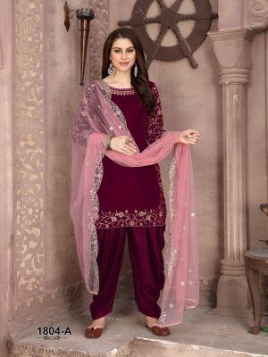 New Arrival Twisha 1804 Colors Designer Salwar Suits Collection