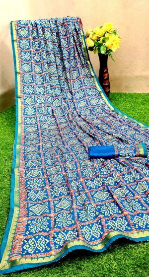 Mahek 10 Casual Wear Bandhani Printed Saree