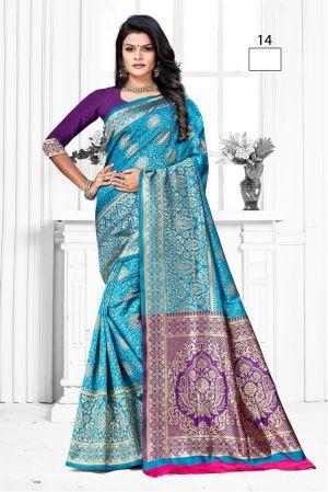 Prakruti Silk 1 Banarasi Designer Saree Collection