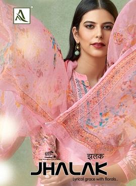 Alok Jhalak Designer Salwar Suits Collection