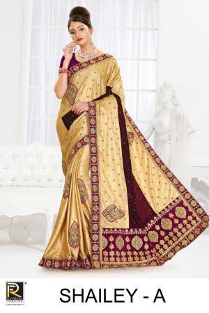 Ronisha Shailey Wedding Saree Collection