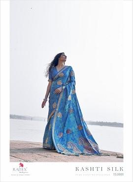 Rajtex Kasti Silk Festive Wear Silk Saree Collection