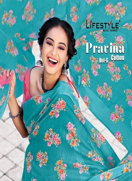 Lifestyle Pavitra Cotton 6 Casual Wear Cotton Saree Collection