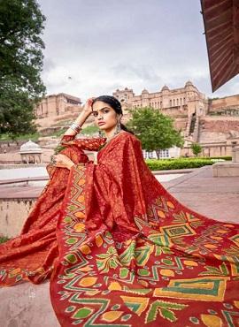 Lifestyle Antra Kathika Etnic Wear Printed Saree Collection