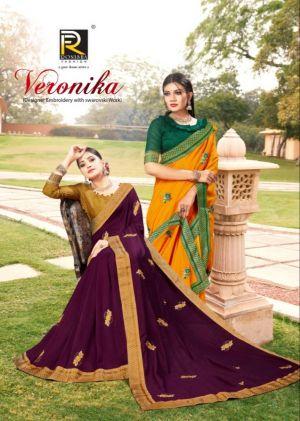 Ronisha Veronika Festive Wear Silk Saree Collection