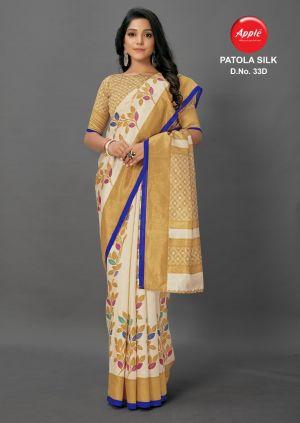 Apple Patola Silk 33 Festive Wear Printed Saree Collection