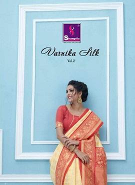 Shangrila Varnika 2 Silk Designer Wedding Wear Saree Collection