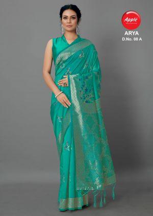 Apple Arya Casual Wear Silk Saree Collection
