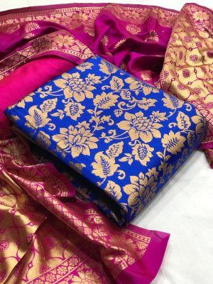 Banarasi Silk Dress 17 Dress Material Collection
