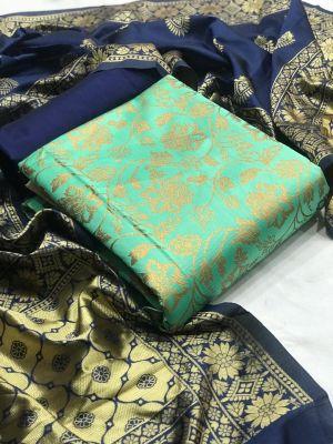 Banarasi Silk Dress 18 Dress Material Collection