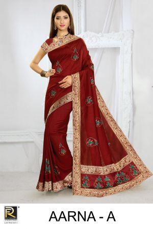 Ronisha Aarna Festive Wear Silk Saree Collection