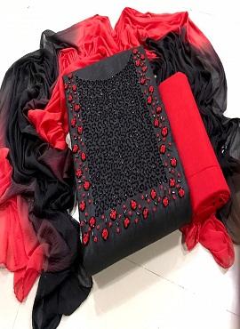 Designer Handwork Suit 2003 Dress Material Collection