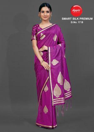 Apple Smart Silk Premium 17 Festive Wear Silk Saree Collection