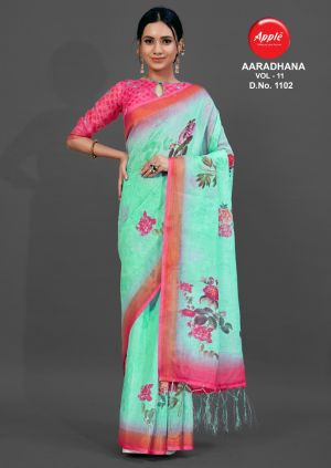Apple Aaradhana 11 Ethnic Wear Printed Saree Collection
