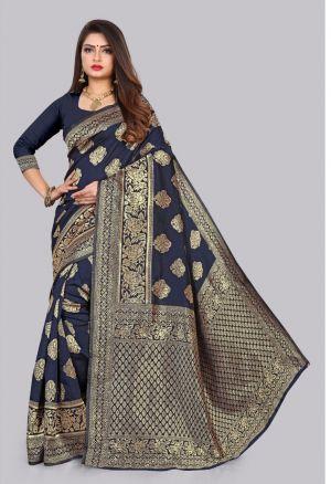 Anarika 15 Party Wear Designer Silk Saree Collection