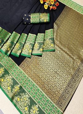 Handloom Flower 2 Festive Wear Silk Saree Collection