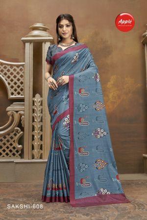 Apple Sakshi 6 Manipuri Silk Festive Wear Saree Collection