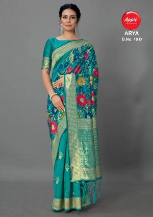 Apple Arya 10 Casual Wear Silk Saree Collection