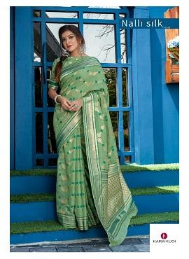 Shangrila Nalli Silk Festive Wear Silk Saree Collection