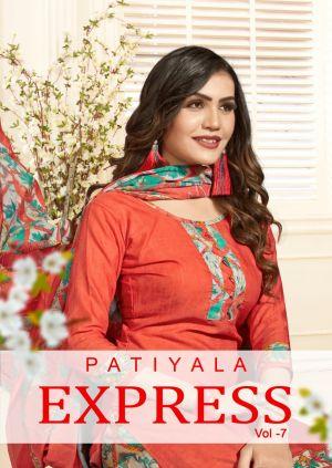 Patiyala Express 7 Cotton Dress Materials Collection