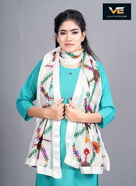 Vilohit Flowers Buti Design Dupatta Collection