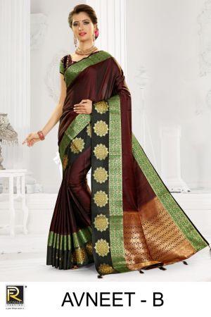 Ronisha Avneet Casual Wear Silk Sarees Collection