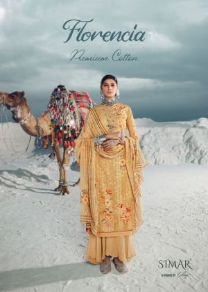 Glossy Simar Florencia 954 Series Designer Dress Material Collection