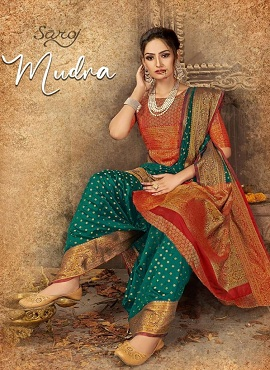 Saroj Mudra Festive Wear Silk Sarees Collection