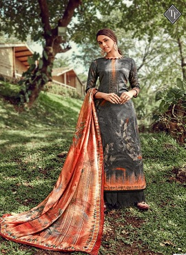 Tanishk Suven Model Satin Designer Dress Material Collection