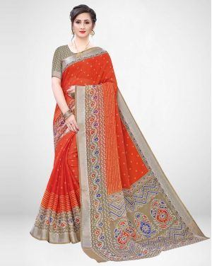 Juicy Casual Wear Silk Sarees Collection