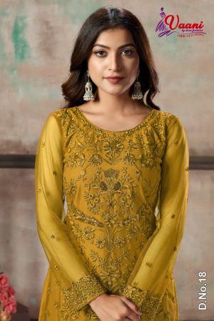 New Arrival Vaani 1 New Colours Designer Net Salwar Suits Collection