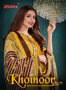Roli Moli Kohinoor Summer Designer Dress Material Collection
