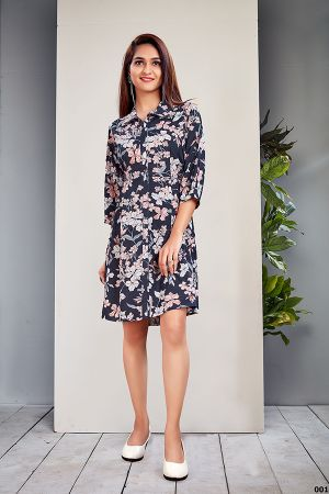 Vyona 1 Ethnic Wear Stylish Western Ladies Top Collection