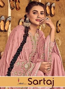 Eba Sartaj Designer Dress Material Collection