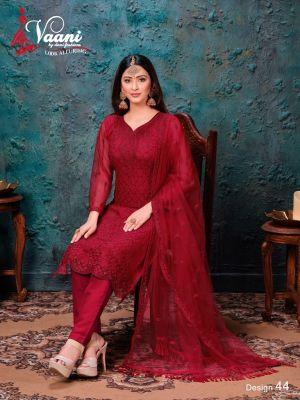New Arrival Vaani 4 Designer Net Salwar Suits Collection