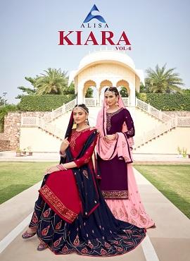 Alisa Kiara 6 Designer Salwar Suits Collection