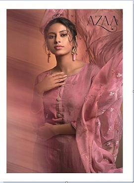 Karma Azaa 529 to 534 Series Designer Dress Materials Collection