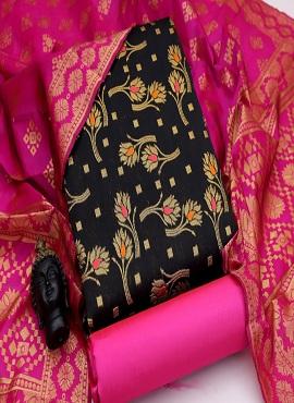 Banarasi Jacquard 105 Casual Wear Dress Material Collection