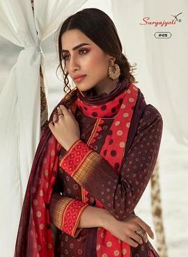 Suryajyoti Trendy Cotton 49 Dress Material Collection