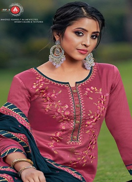 Triple A Kalash 3 Designer Dress Material Collection