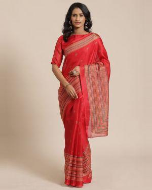 Jute Silk 103 Casual Wear Silk Sarees Collection
