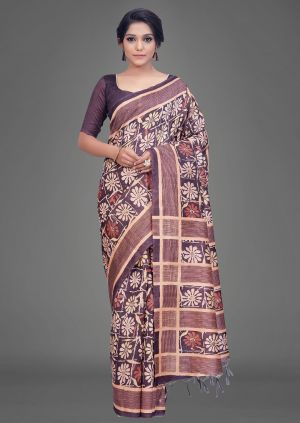 Apple Kalamkari 15 Casual Wear Silk Sarees Collection